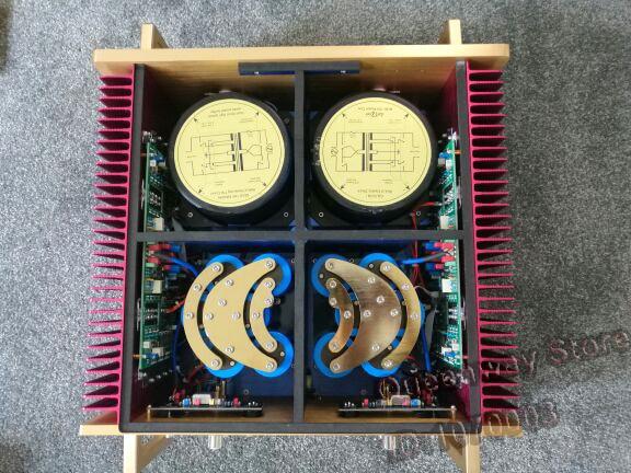 N-53 La dernière Noir Veuve Puissance amplificateur amp Multi Mode Combler Équilibre 8 ohm 350 W Dartzeel NHB368 NHB268 Étude Version