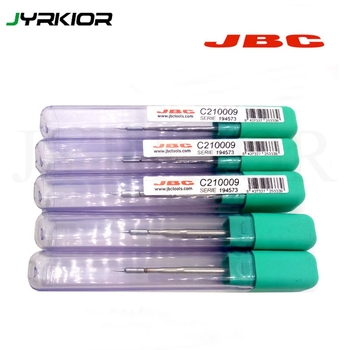Jyrkior jbc 정밀 c210 납땜 인두 팁 210-020 210-001 210-009 용접 작업을위한 원추형 팁 원래 용접 노즐