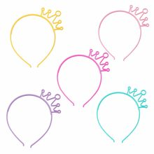 2019 New Novelty Children Kids Girls Crown Head Band Hairbands Hoop Tiara Headwear With Teeth Hot Hair Accessories(China)