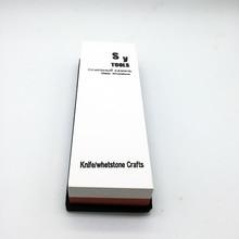 3000/8000 зернистость Грубая шлифовка Тонкая полировка Кухонный нож для точилки воды точильный камень 7 * 2 * 1 дюймов