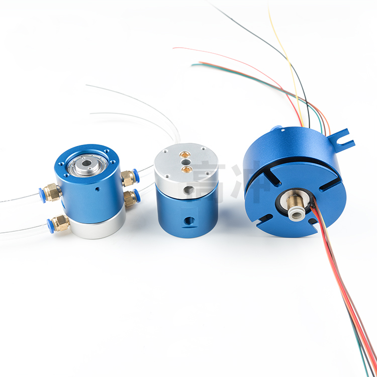 1PC 360 Degree Slip Ring Gas Electric Liquid Mixing Slipring Mixed Current Signal Loop 1In1Out 2In2Out 4In4Out 1/2/4/6 Channels mixed ring pack 10pcs
