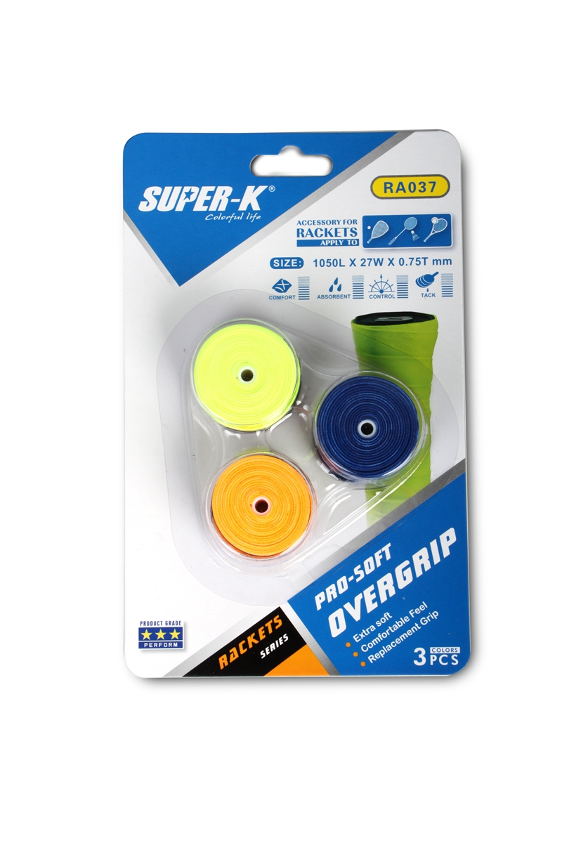 PU Hand Grip Sweat Band Replacement Badminton Racket Squash Racquet Tape