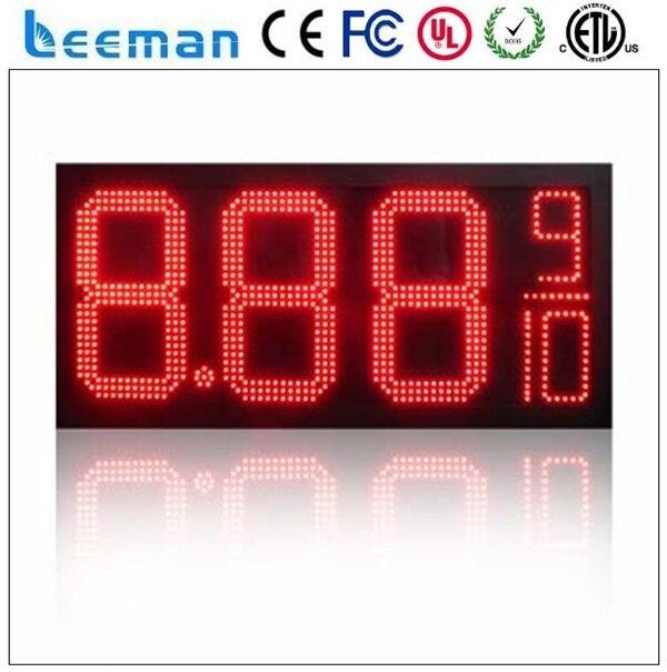Leeman из светодиодов цифровой цена на газ знак для азс австралии 7 сегмент из светодиодов цена на газ / из светодиодов азс знак / из светодиодов топлива знак