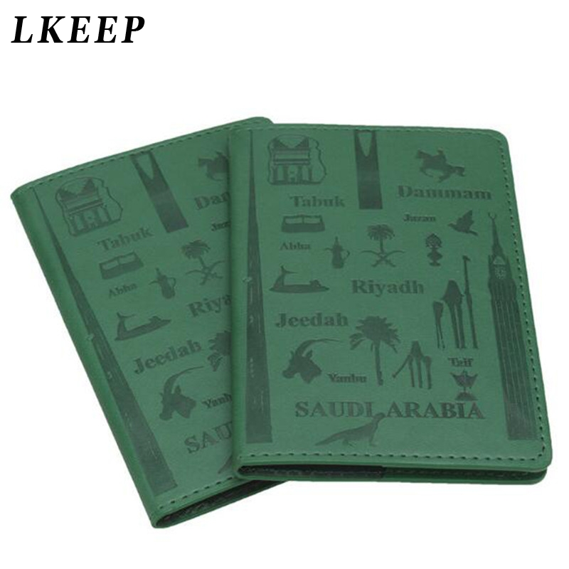 PU Leather Passport Cover Portable Travel Id Card Holder For Women Men Credit Card  Passport Protector Cases Travel Accessories