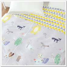 250cm x50cm 60s Sateen Cotton Cloth, Diy Bedding Sheets Fitted Pillowcase Fabric Soft Comfortable Cartoon 320g/m