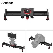 30cm 40cm 50cm caméra piste curseur en alliage daluminium amortissement curseur piste vidéo stabilisateur Rail piste curseur pour caméscope DSLR