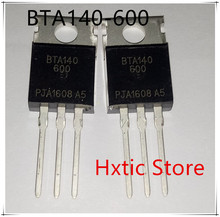 10PCS BTA140-600 TO220 BTA140 TO-220 new