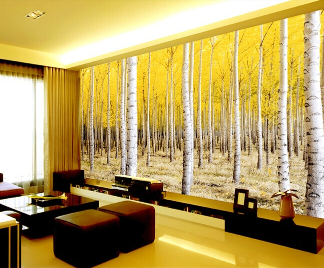 Online buy wholesale nature wall murals from china nature for Custom wall mural