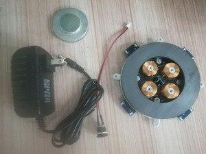 Image 2 - DIY moduł lewitacji magnetycznej zawieszenie magnetyczne rdzeń z lampą LED waga 500g