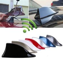 Модернизированный сигнал Универсальный Автомобильный плавник акулы антенна Авто крыша FM/AM радио антенна замена для BMW/Honda/Toyota/Hyundai/Kia/и т. Д