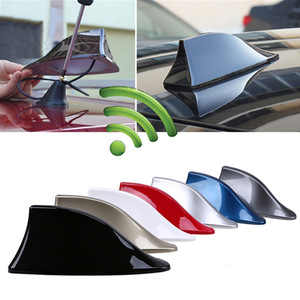 Upgraded Signal Universal Car Shark Fin Antenna Auto Roof FM/AM Radio Aerial Replacement for BMW/Honda/Toyota/Hyundai/Kia/etc