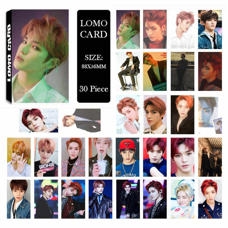 Youpop KPOP NCT 2018 Empathy NCT U 127 DREAM Album LOMO Cards K-POP New  Fashion Self Made Paper Photo Card Photocard LK550