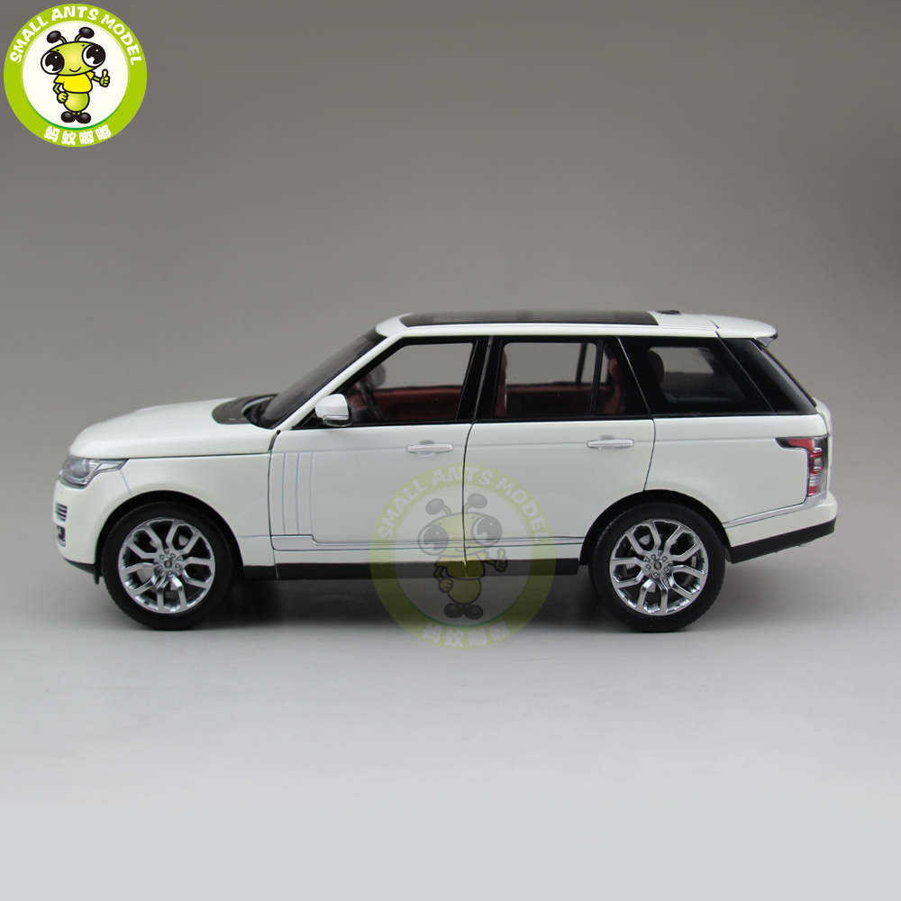 1/18 RANGE Suv Car Rover Welly GTAutos Diecast Metal SUV CAR MODEL Toys for kids children Boy Girl gift hobby collection yellow car model for 1 18 rover series i ltd 1948 minichamps classic collection diecast model car diy model customs made
