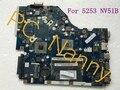 Тестирование! Mbncv02001 P5WE6 LA-7092P ноутбук материнской платы для Acer aspire 5253 NV51B AMD E350 комплексное оперативной памяти DDR3