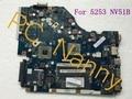 Testado! Mbncv02001 P5WE6 LA-7092P Laptop Motherboard para Acer aspire 5253 NV51B AMD E350 integrado DDR3 RAM