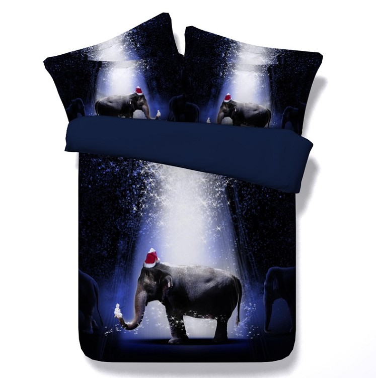 3d Elephant Comforter Set Baby Twin Bedding For Adults