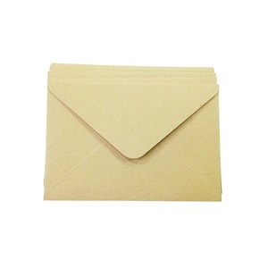 Image 3 - 100PCS/lot Vintage Kraft paper envelope 16*11cm DIY Multifunction Gift card envelopes for wedding birthday party