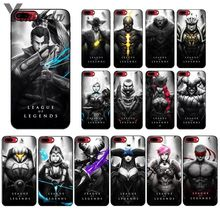 Yinuoda League of Legends lol Hero Pattern TPU Soft Phone Cell Phone Case for Apple iPhone 8 7 6 6S Plus X XS MAX 5 5S SE XR yinuoda g dragon peaceminusone pattern tpu soft phone cell phone case for apple iphone 8 7 6 6s plus x xs max 5 5s se xr cover