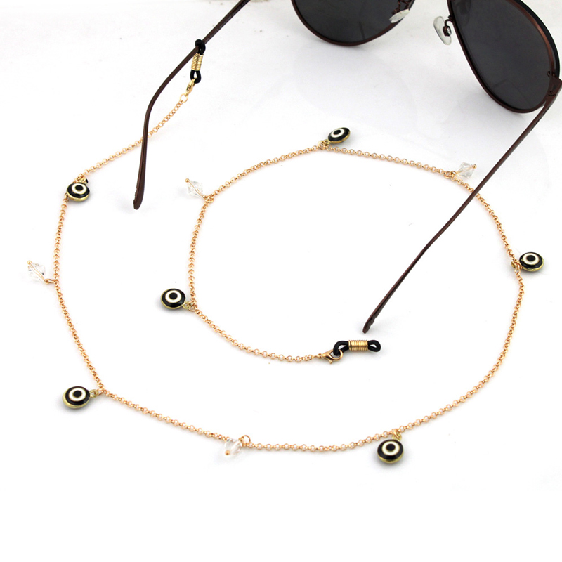 Sunglasses Specs Reading Glasses Strings//Neck Safety Strap//Bead Cord//Metal Chain