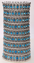 Multilayer stretch cuff bracelet women crystal wedding bridal fashion jewelry B11 9 row