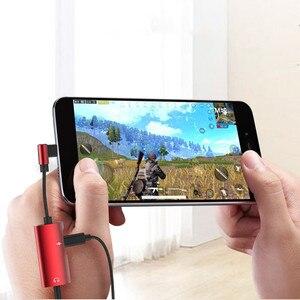 Image 5 - Adaptador de Cable auxiliar USB tipo C de dos cabezales a 3,5 MM, macho a hembra, para Samsung, Huawei