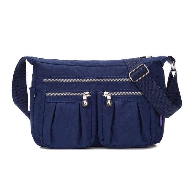 Sacos de mulheres Mensageiro Nylon Impermeável saco Das Senhoras Bolsas de Ombro Crossbody Bolsas Femininas Bolsa Bolsos Mujer feminina Lady Tote