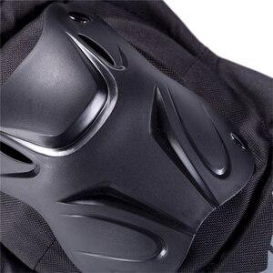 Image 5 - WOSAWE motocykl 4 sztuk/zestaw łokieć i ochraniacze na kolana ochrona Moto sprzęt ochronny Motocross ochraniacze Sport pancerz zestaw PE Shell
