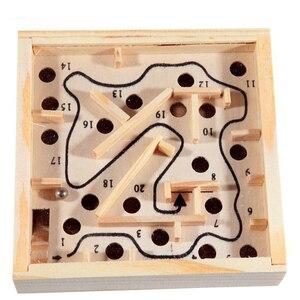 Wooden Labyrinth Board Games B