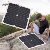 Portable 13W 6V Flexible Slim Polysilicon Solar Photovoltaic Panels DIY Power Bank Charging Module Garden Lamp Outdoor