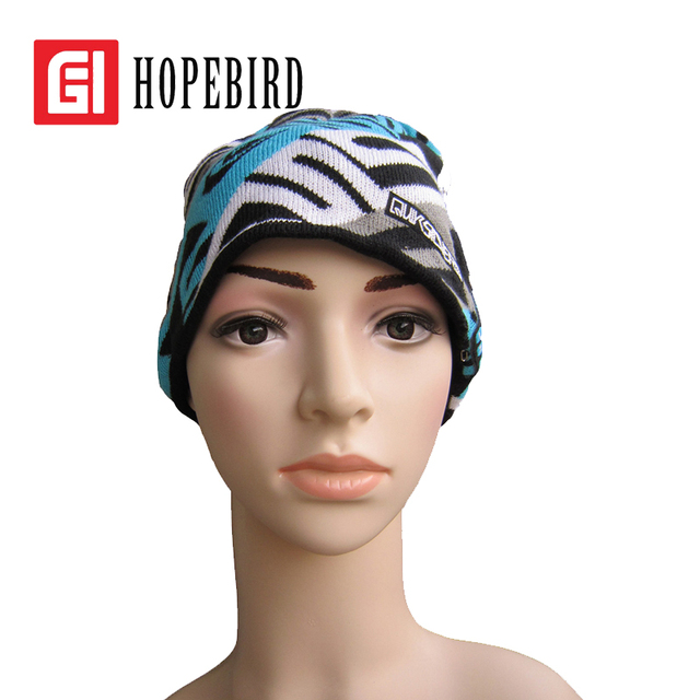 High Quality Bluetooth Hat Headset Cap Music Keep Warm Spring Winter 2017 Women Men Hats