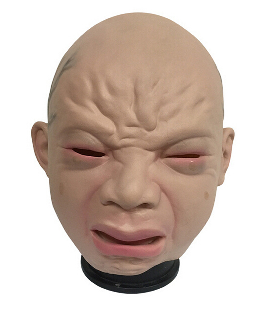 Aliexpress.com : Buy Halloween Party Latex Horror Crying ...