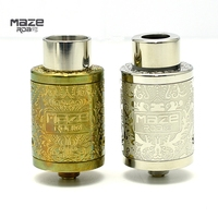 Maze V2 BF RDA Tank Atomizer Kennedy style Airflow Adjustable Double deck Rebuildable 22mm diameter Rebuildable Dripping Dripka
