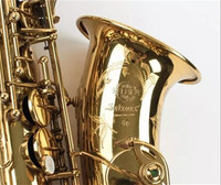 SELMER Mark VI High Quality Alto Eb Saxophone Professional Musical Instrument Brass Gold Plated Sax Pearl Buttons With Case