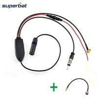 Superbat FM AM To DAB DAB FM AM Car Radio Aerial Amplifier Converter Splitter And SMB