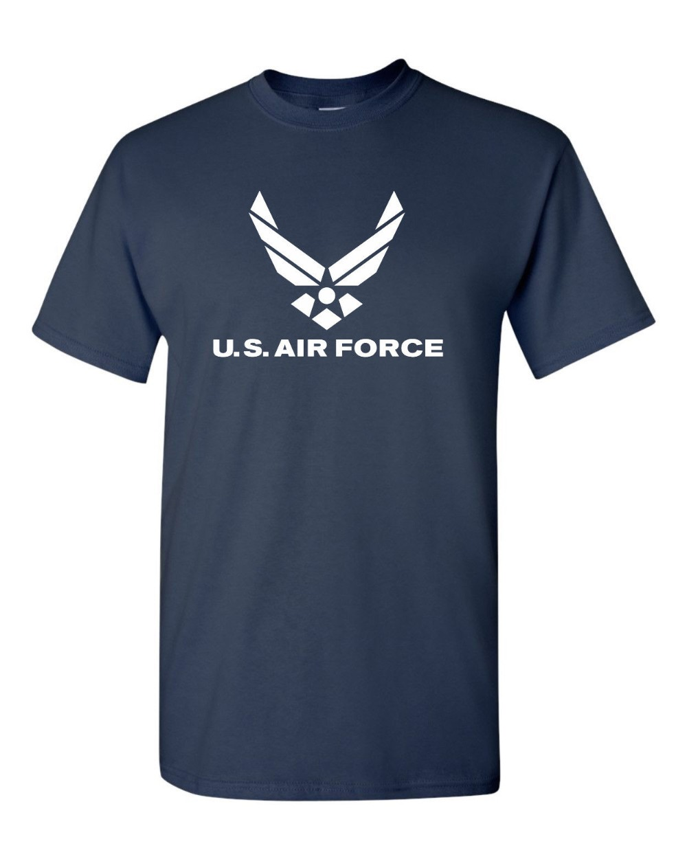 Us Air Force Logo American Military <font><b>Usaf</b></font> 2019 Men T <font><b>Shirt</b></font> Fashion Funny Clothing Casual Short Sleeve T <font><b>Shirts</b></font> Casual Men Tees image