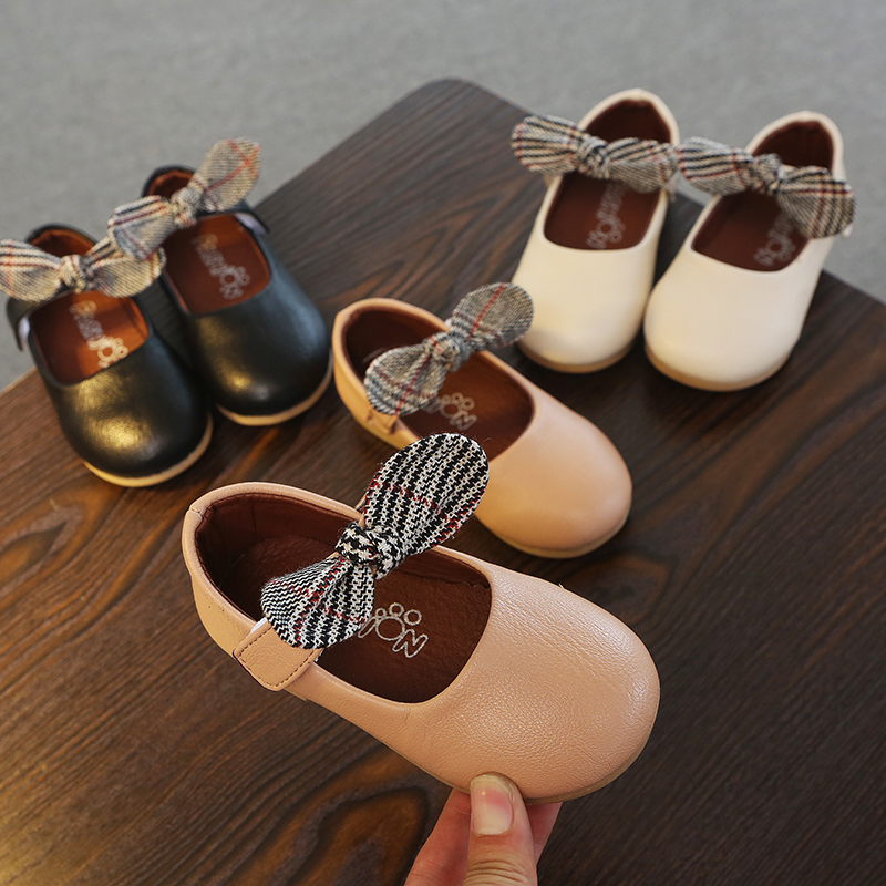 Detail Feedback Questions about Children Shoes PU Leather Princess Bowknot  Dance Nubuck Kids Shoes 2 6 Years Old Gilr Pathy Shoes Spring Autumn MCH003  on ... 3e6bbf0dea0c