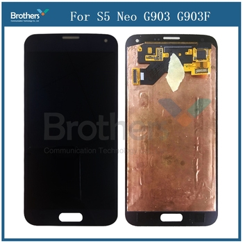 For Samsung Galaxy S5 Neo G903 G903F LCD,Touch Screen Digitizer Assembly Phone Replacement For Samsung G903 G903F LCD Display image