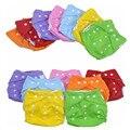 2 PCS novo Ajustável respirável calças fraldas hugies calcinha reutilizáveis fraldas do bebê lavável fralda fraldas fralda do bebê barato