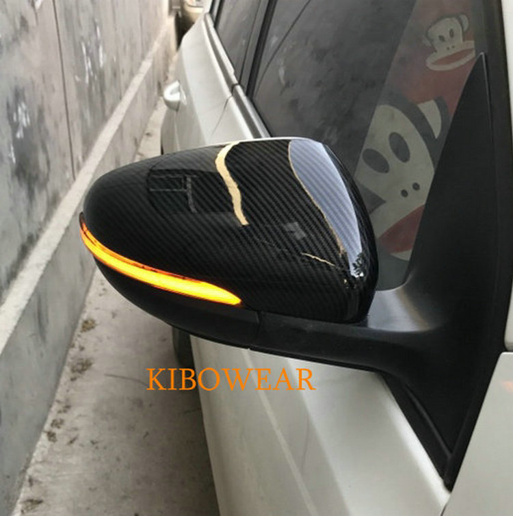 Kibowear for VW Golf MK6 GTI 6 R20 MKVI Dynamic LED Turn Signal Light Side Mirror blinker R line Rline 2009 2010 2011 2012 mzorange side mirror led turn signal light outside for prius reiz wish mark x crown avalon 2008 2009 2010 2011 2012 right