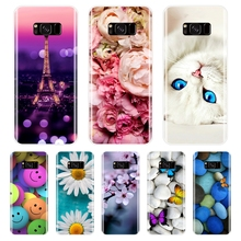 цена на Phone  Case For Samsung Galaxy S5 S6 S7 Edge Soft Silicone TPU Cute Cat Painted Back Cover For Samsung Galaxy S8 S9 Plus  Case