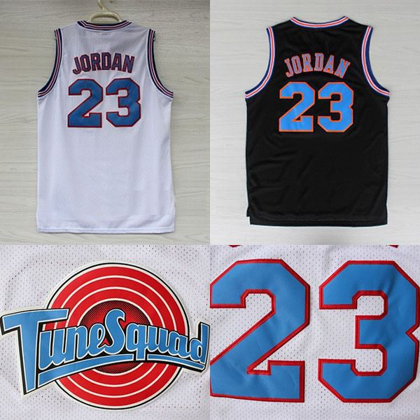 2aaeee658c0 Michael Jordan 23 Space Jam Jersey White, Cheap Basketball Jerseys Tune  Squad Jersey LOONEY TOONES New REV 30 Embroidery Logos