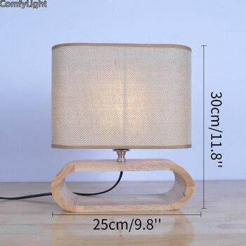 Tischlampe Aus Bambus | Schreibtisch Lampe Clip Büro Führte Schreibtisch Lampe Auge-geschützt Lange Lebensdauer Buch Lampe Für Schlafzimmer/büro Holz Led Nacht Licht Lampe Tisch Licht