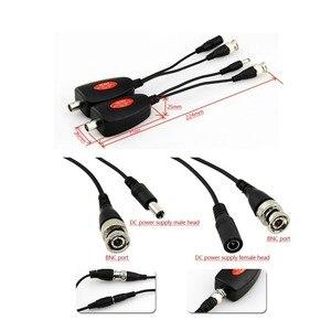 Image 4 - 1 канальная система Power Over Coax для камер видеонаблюдения Ahd/Cvi/Tvi Video + блок питания коаксиальный Hd видео передатчик до 400 м