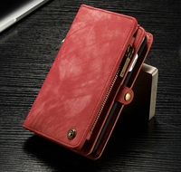 Caseme Retro PU Leather Case Vintage Wallet Case Credit Card Stand Cover For IPhone 6 6s