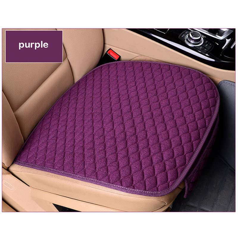 Image 5 - XWSN Linen car seat cover cushion suitable for 99% of the auto four seasons universal comfortable and breathable Car accessories-in Automobiles Seat Covers from Automobiles & Motorcycles