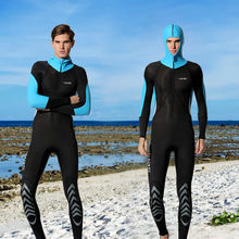 Hisea UV Protection Men Wetsuit one piece Full Bodysuit Quick Dry Swimsuit for Surf Triathlon Spearfishing Scuba Diving Suit