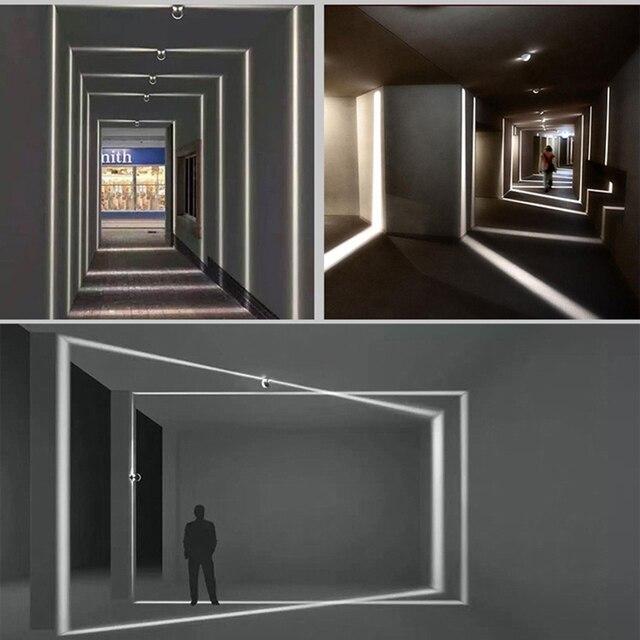 Led Wall Lamp Aisle Corridor Doors Windows Lighting Lines