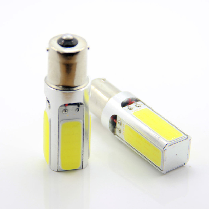 Car 1156 LED 20W Xenon WHITE parking side mark back up lamps bulb BA15S P21W LED Turn signal light Reverse light купить