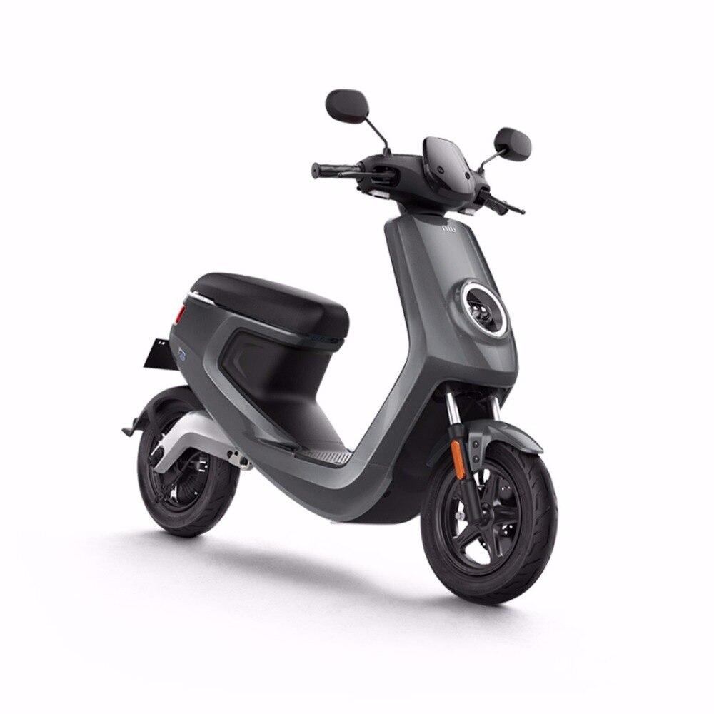 12 inch font b electric b font font b motorcycle b font xiaoniuM1 48v lithium battery