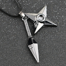Naruto Kunai and Shuriken Necklace